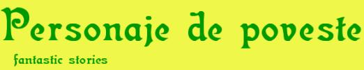 sigla Personaje de Poveste